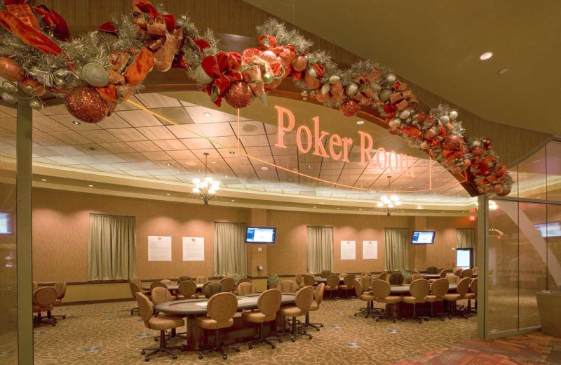 Poker room at Sky Ute Casino Resort.