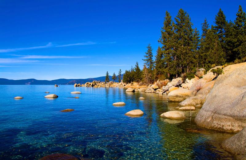 Lake Tahoe near Ritz-Carlton Lake Tahoe.