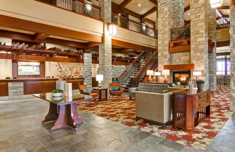 Lobby at DoubleTree Fallsview Resort & Spa by Hilton - Niagara Falls.