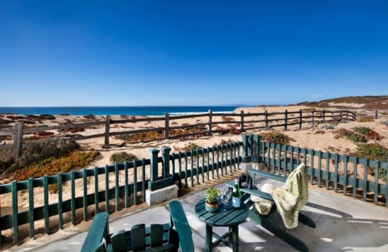Private Patio at The Sanctuary Beach Resort