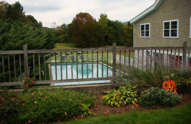 Outdoor pool at The Inn at Willow Pond.