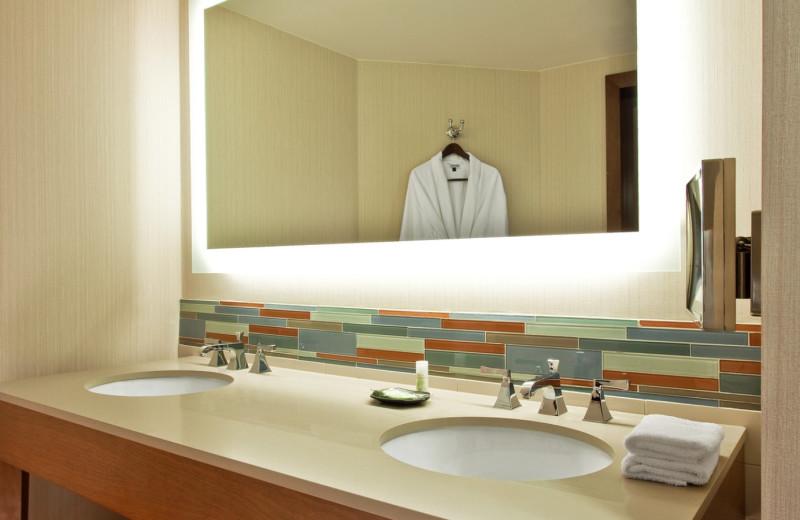 Bathroom at  The Westin Hilton