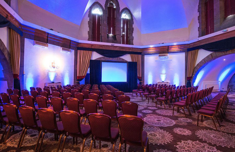 Conference room at Shrigley Hall Hotel Golf & Country Club.