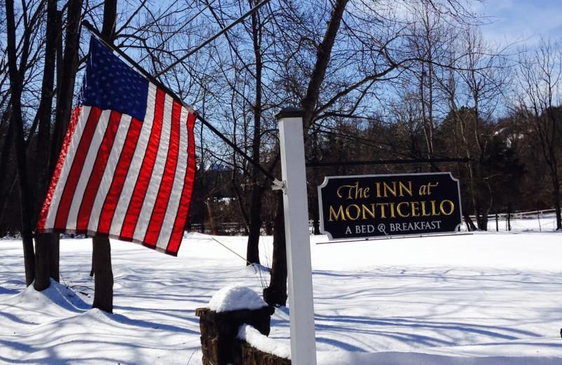 Winter at Inn at Monticello.