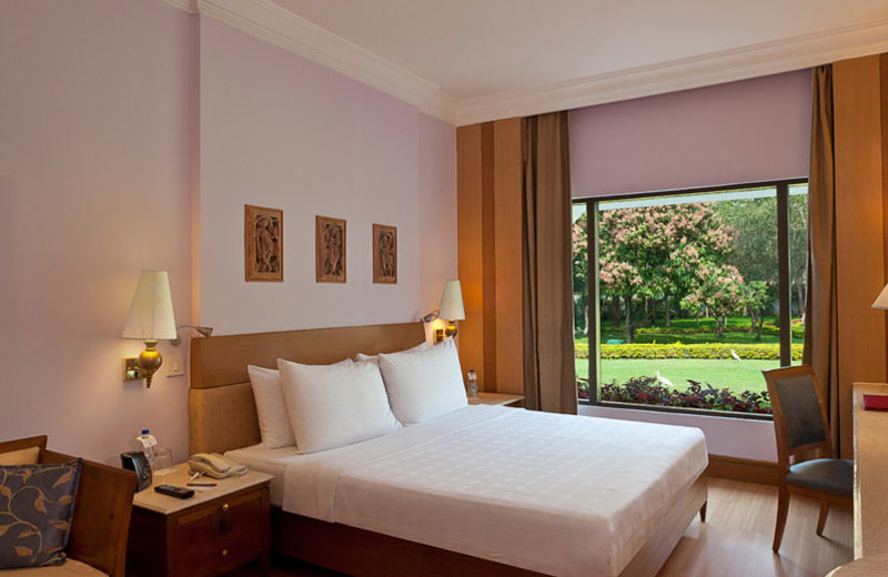 Guest room at Trident Bhubaneswar.