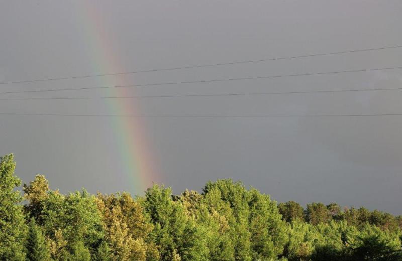 Rainbow at North Country Inn.