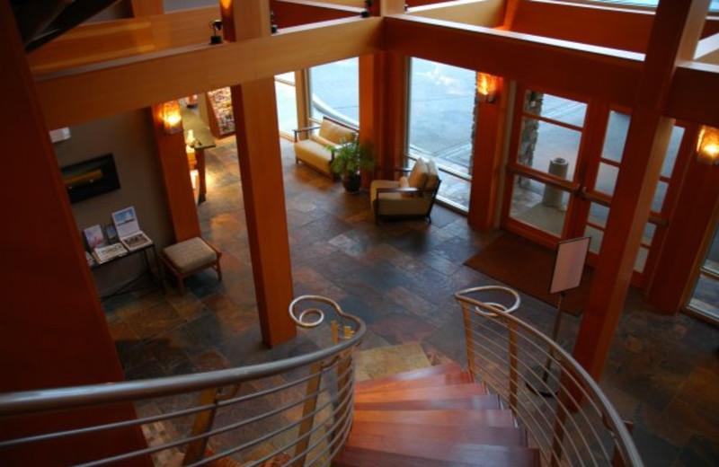 Main Entry Way at The Chrysalis Inn