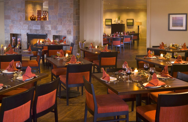 Dining at Red Mountain Resort & Spa.