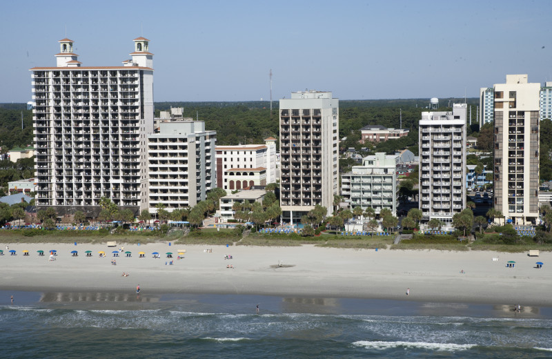 Exterior view of The Breakers Resort.