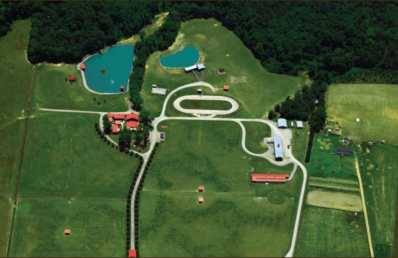 Aerial view of Buckhead Ranch.