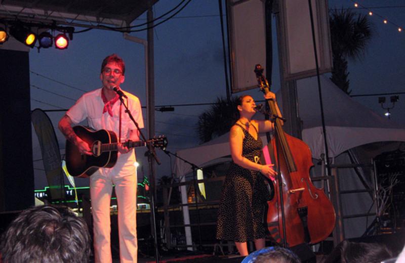 Concert at Meyer Vacation Rentals