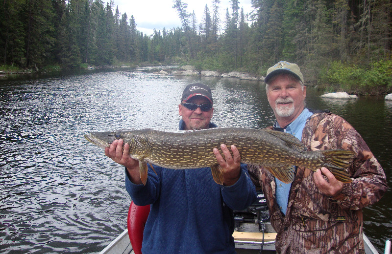 Guided fishing tours at Sandy Beach Lodge.