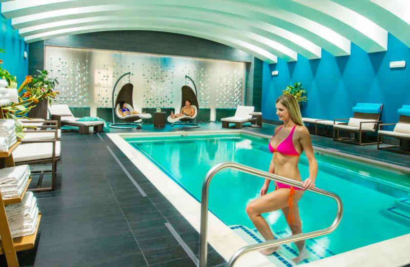 Spa pool at Grand Sierra Resort and Casino.