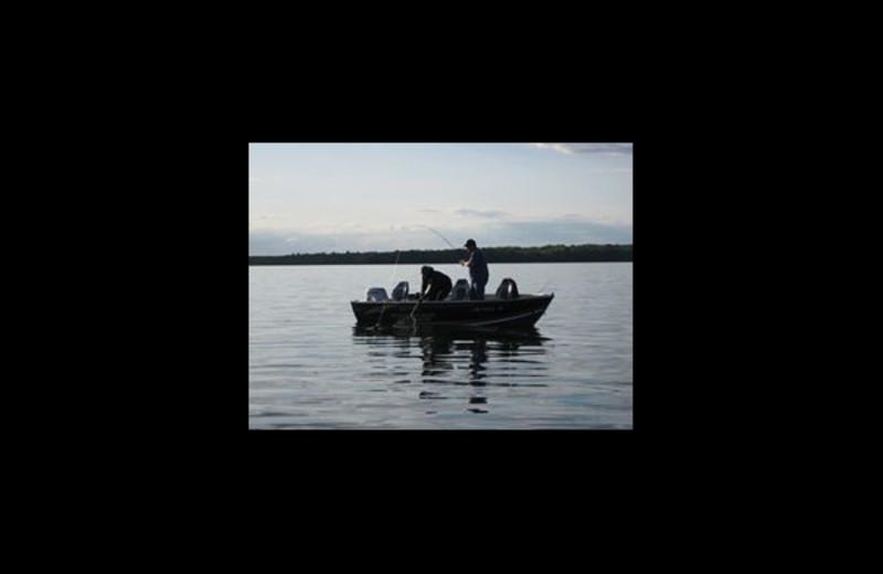 Fishing at Moonlight Bay Resort.