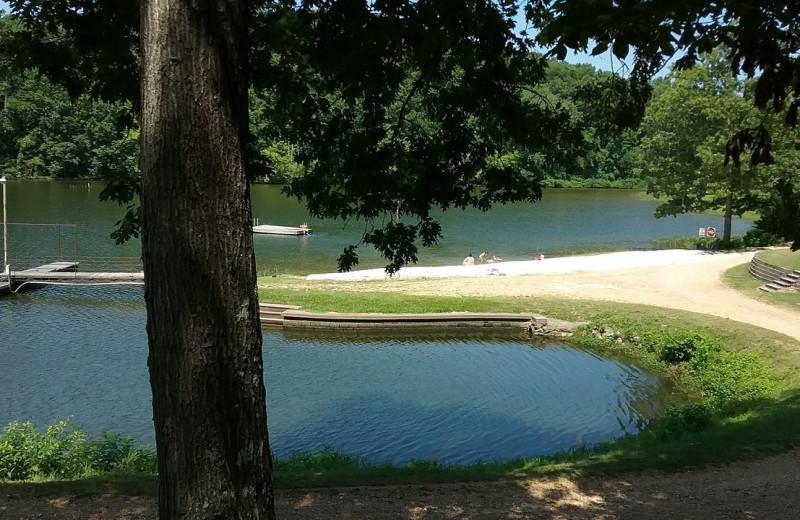 View from Lynnhurst Family Resort.