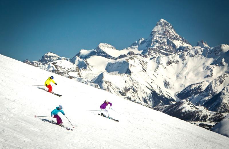 Skiing at Grande Rockies Resort.