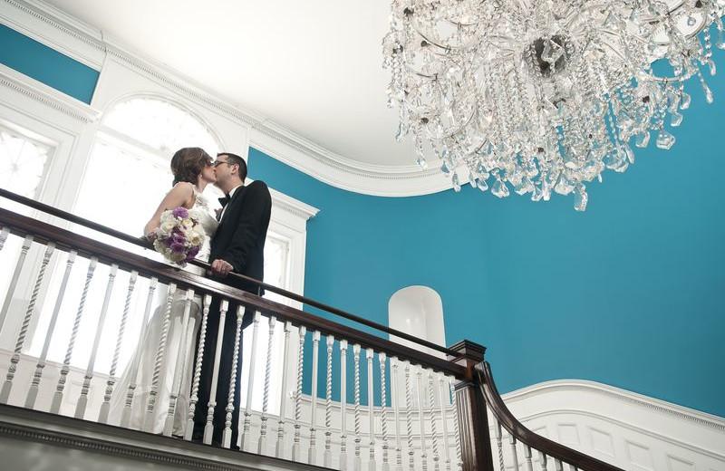 Wedding Couple at Kemble Inn