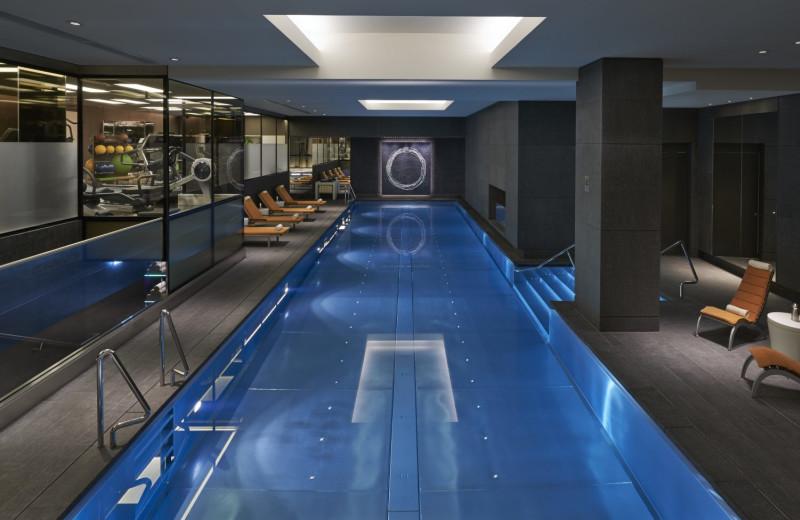 Indoor pool at Mandarin Oriental Hyde Park.