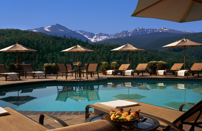 Outdoor pool at Lodge & Spa At Cordillera.