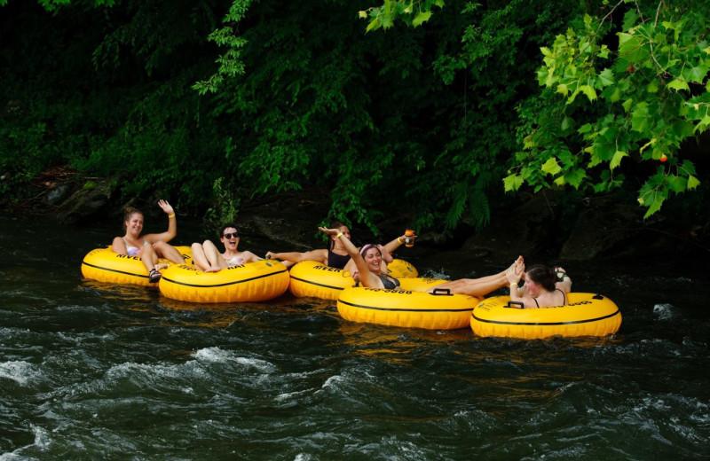 Rafting near RiverStone Resort & Spa.