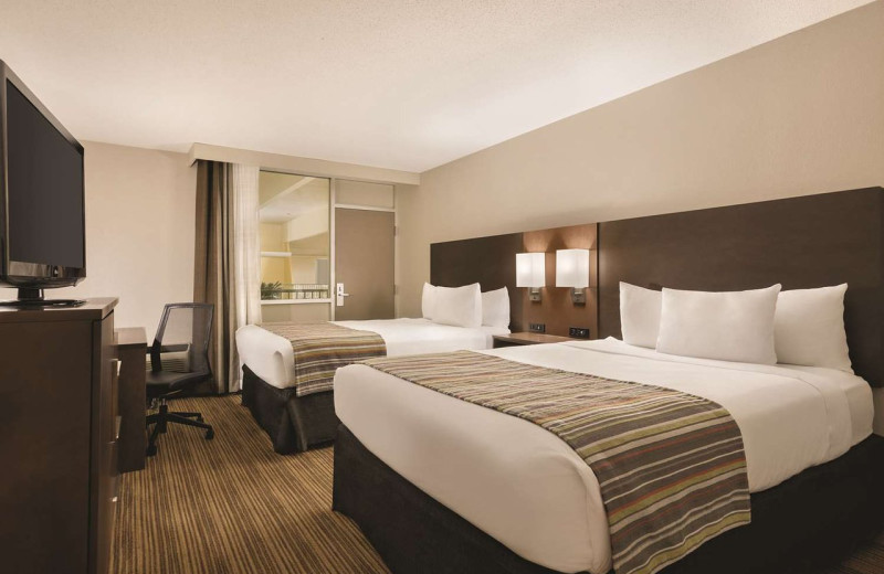 Guest room at Country Inn & Suites - Fergus Falls.