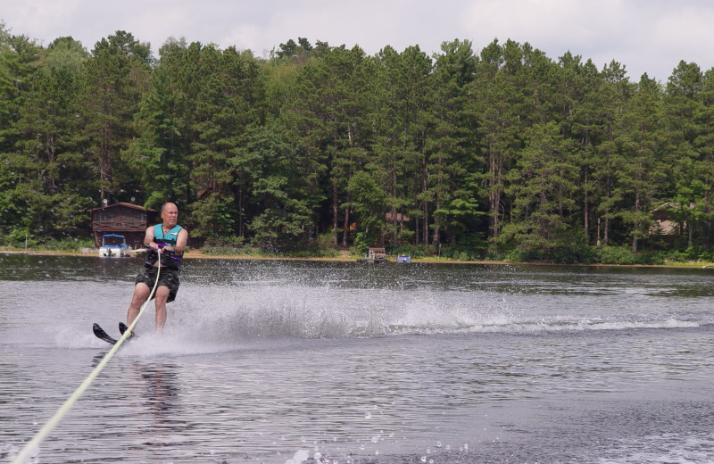 Water skiing at Eagle Wing Resort.