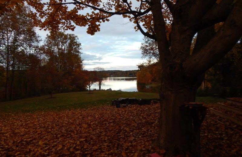 Fall at Chateau Lake Logan.