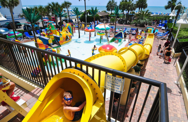 Rental water park at Condo World.