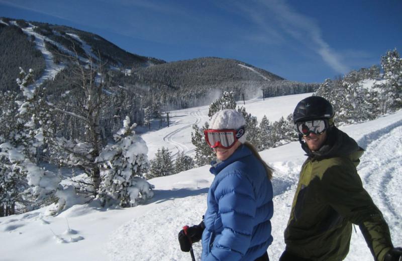 Skiing at Rock Creek Resort.