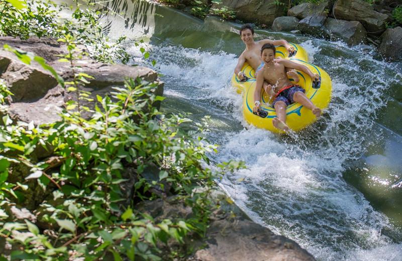 Waterpark at Mountain Creek Resort.
