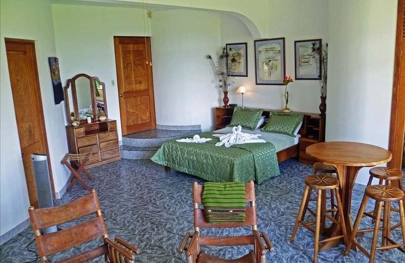 Guest room at Villa Encantada.