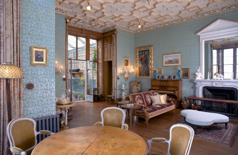Lounge at Balfour Castle.