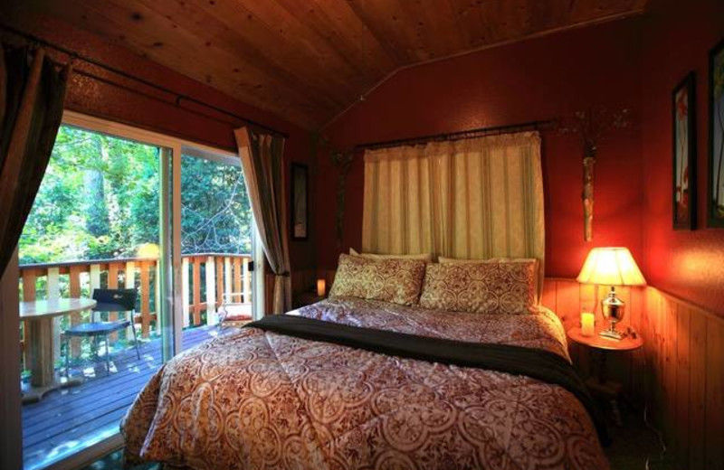 Guest Room at Sleepy Hollow Cabins & Hotel