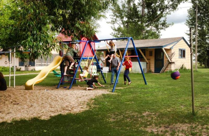 Children's playground at Four Seasons Resort.