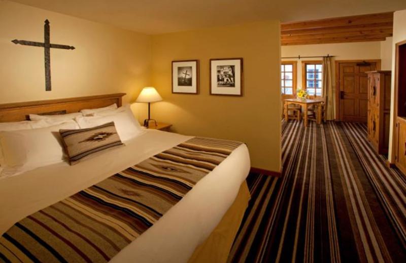Mission suite at Hotel Chimayo de Santa Fe.