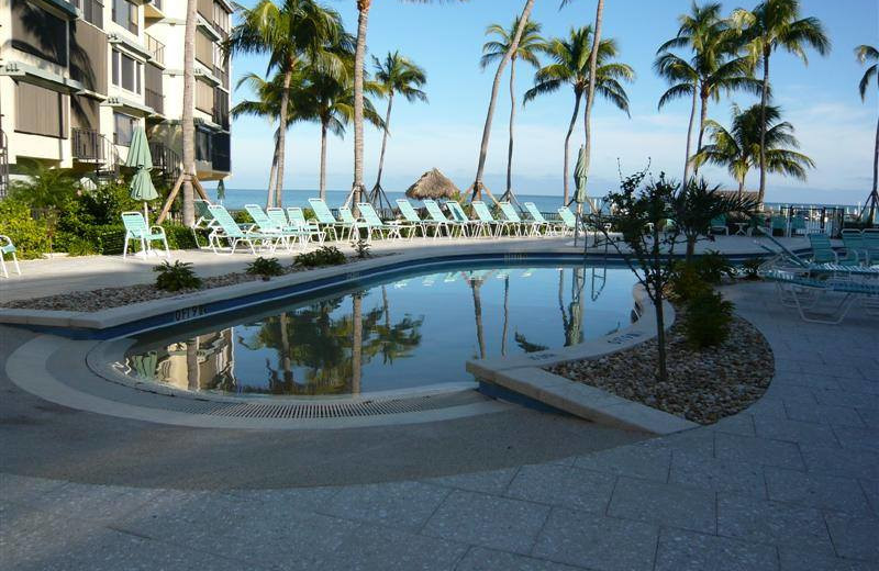 Rental pool at Keys Holiday Rentals, Inc.