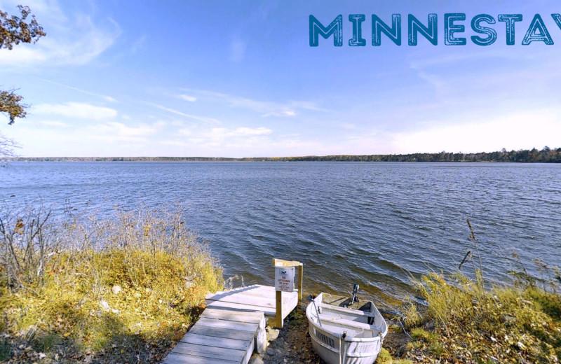 Lake view at Minnestay.