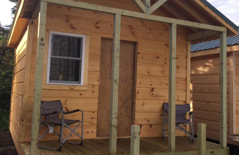 Cabin at Nushagak River Adventure Lodge.