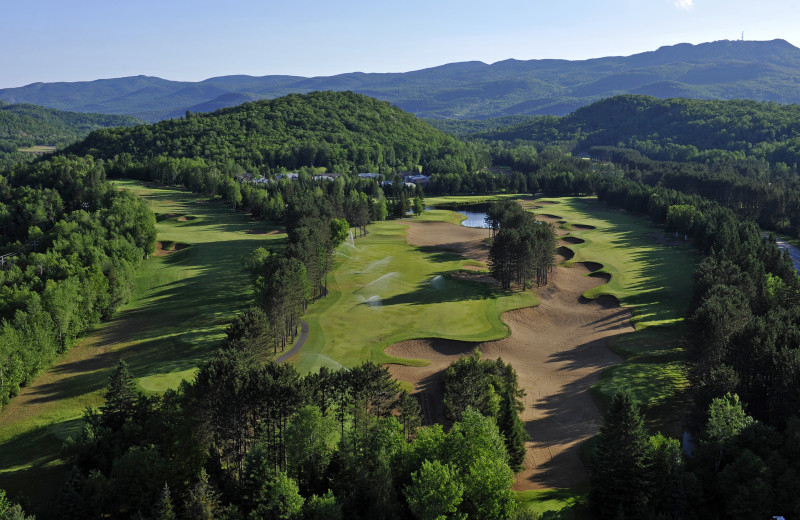 Golf course near Fairmont Tremblant Resort.