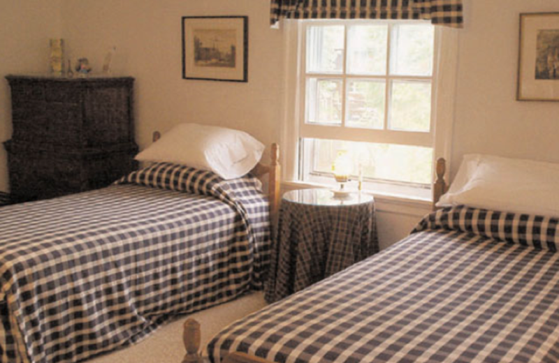 Guest room at Longfellow House B & B.