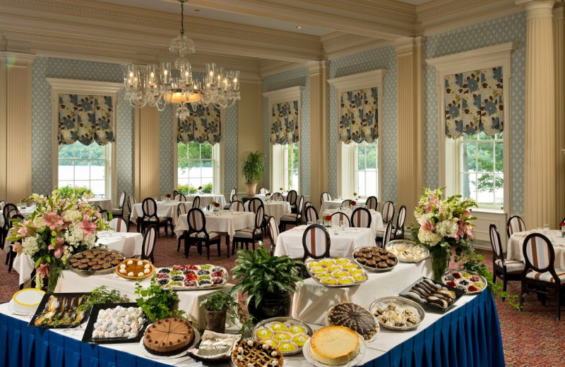 Dining at The Otesaga Resort Hotel.