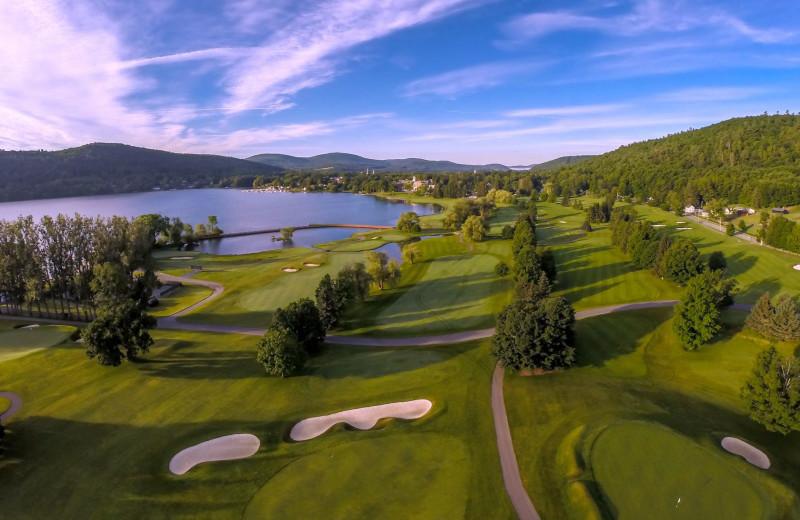 Golf course at The Otesaga Resort Hotel.