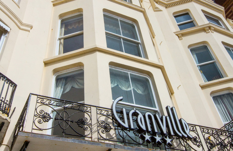 Exterior view of Granville Hotel.