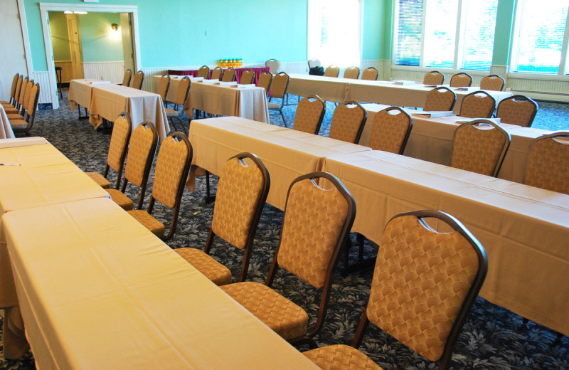 Conference tables at Landmark Resort.