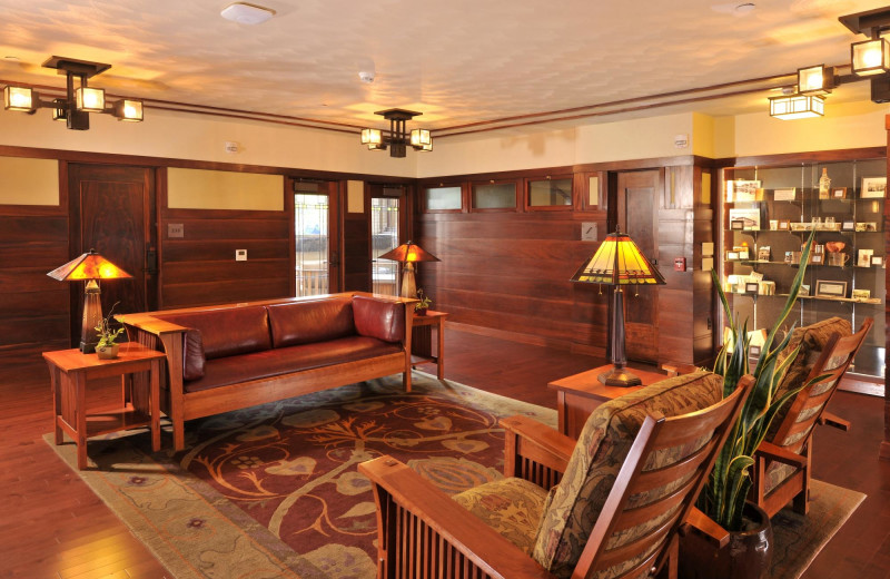 Lounge at Historic Park Inn.