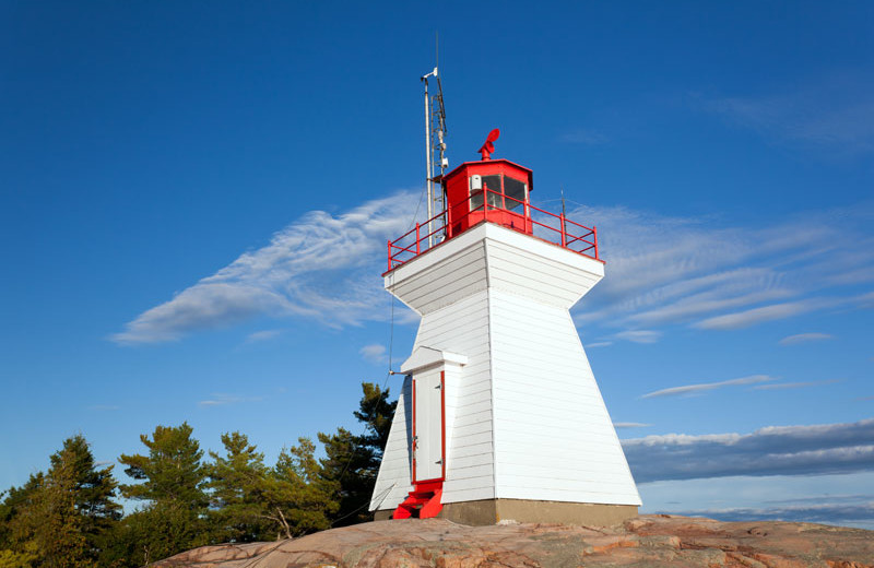 Lighthouse at Killarney Mountain Lodge.