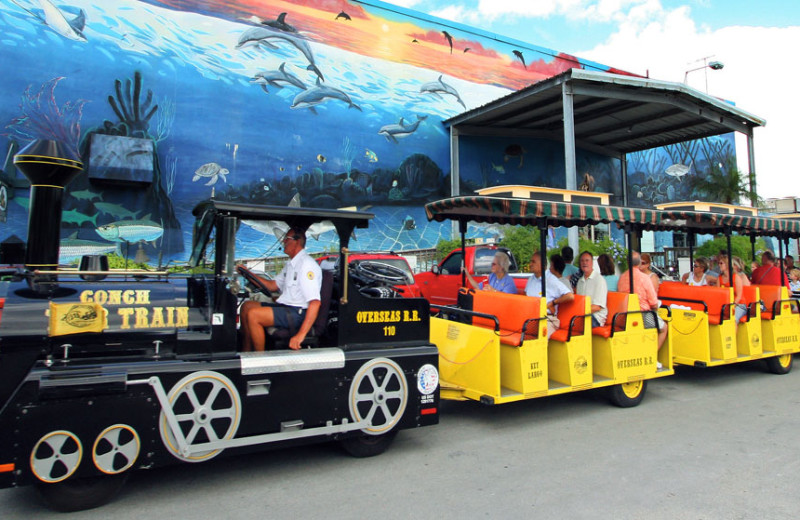 Trolley tours at The Inn at Key West.