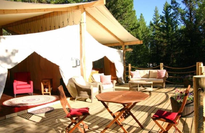 Canvas Cabin at Siwash Lake Ranch