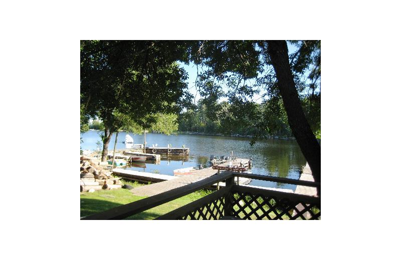 Dock at Birch Grove Resort.