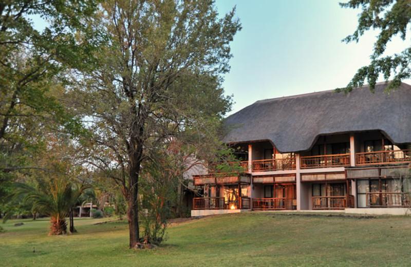 Exterior view of Mowana Safari Lodge.